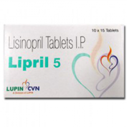 Lipril 5 mg (15 pills)