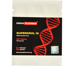 SUPERDROL 10 mg (100 tabs)