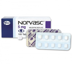 Norvasc 5 mg (30 pills)