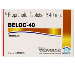 Beloc 40 mg (10 pills)