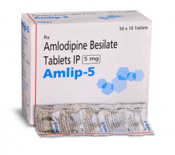 Amlip 5 mg (10 pills)
