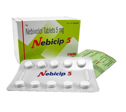 Nebicip 5 mg (10 pills)
