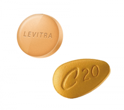 ED Trial Pack: Levitra 20 + Cialis 20 (20 pills) (20 pills)