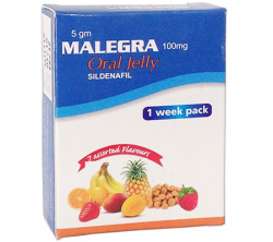 Malegra Oral Jelly 100 mg (7 sachets)