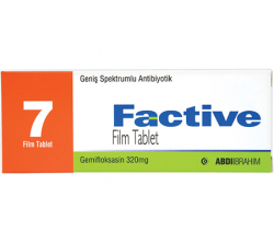 Factive 320 mg (7 pills)