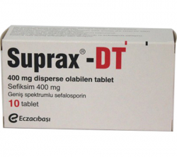 Suprax-DT 400 mg (10 pills)