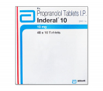 Inderal 10 mg (10 pills)