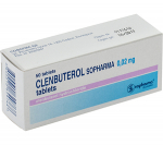 Clenbuterol 20 mg (50 pills)
