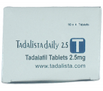 Tadalista 2.5 mg (10 pills)