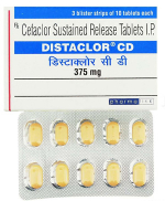 Distaclor CD 375 mg (30 pills)