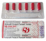 Sildalist 120 mg (6 pills)
