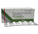 Etilaam MD 0.5 mg (100 pills)