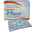 Extra Super P-Force 200 mg (4 pills)