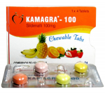 Kamagra Chewable 100 mg (4 pills)