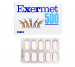 Exermet 500 mg (15 pills)