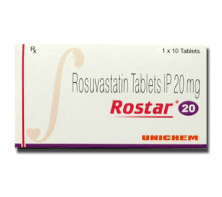 Rostar 20 mg (10 pills)