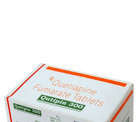 Qutipin 300 mg (10 pills)