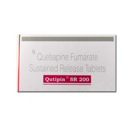 Qutipin SR 200 mg (10 pills)