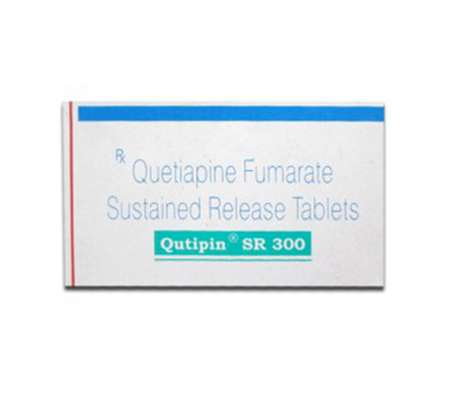 Qutipin SR 300 mg (10 pills)