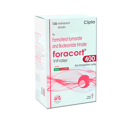 Foracort 400 mg / 6 mcg (1 inhaler)