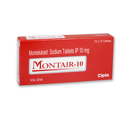 Montair Chewable Tablets 10 mg (15 pills)