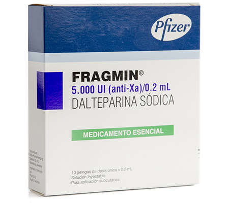 Fragmin 5000 iu (1 injection)