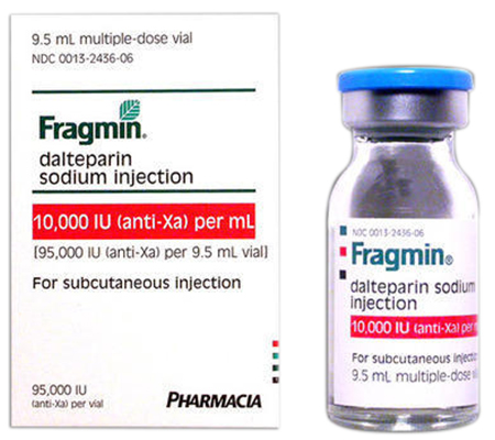 Fragmin 10000 iu (1 injection)