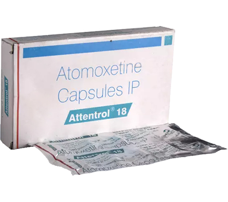 Attentrol 18 mg (10 pills)