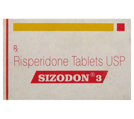 Sizodon 3 mg (10 pills)